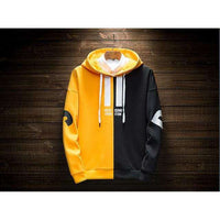 Musho Station:Two-color matching Sweatshirts High Quality letter printing fashion mens hoodie,,Musho Station,Musho Station