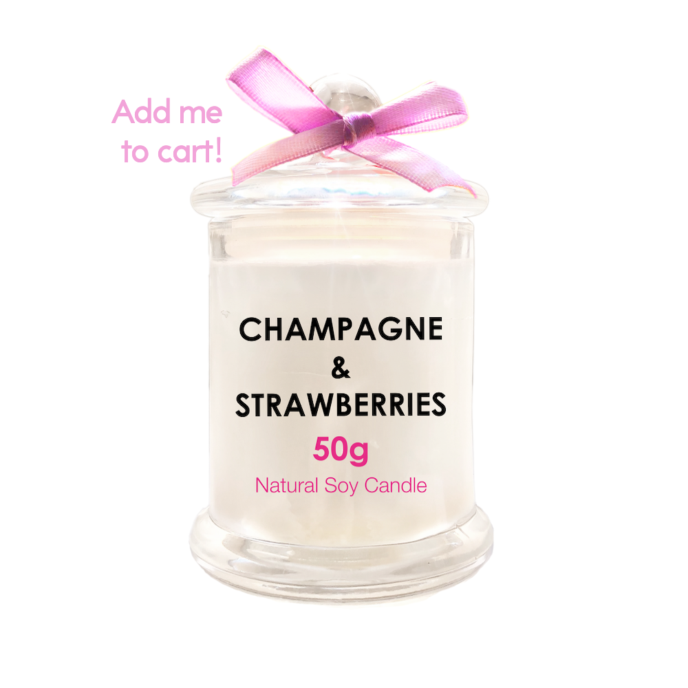 Champagne & Strawberries 50g