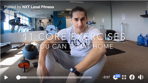 At Home Core Workout