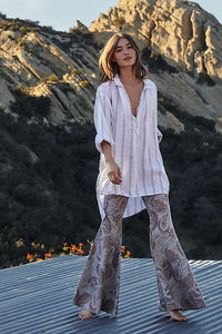 Just Float On Flare Geo Print by Free People