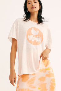 Woodstock Clarity Ringer Tee by Free People