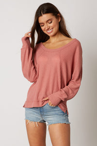 Down In The Sand Cotton Blend Pullover