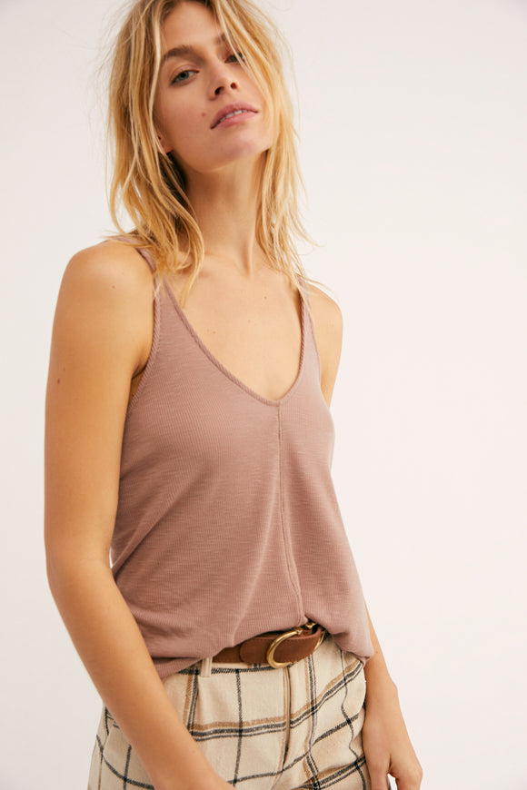 Dani Tank by Free People in Mocha