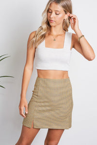 Lenora Banded Thick Strap Crop