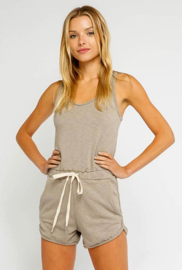 Close Friends Knit Romper