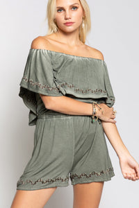 Long Distance Layered Romper