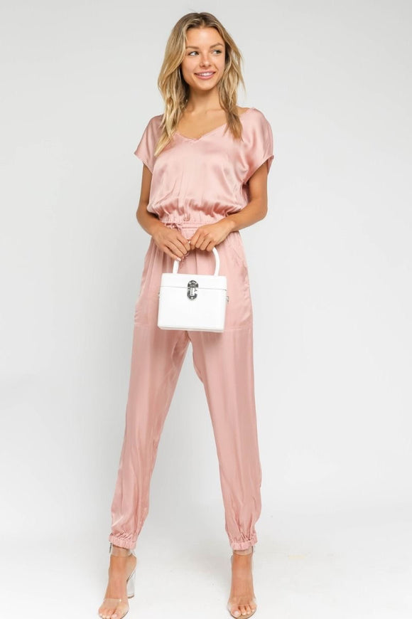 Merci Beaucoup Pocketed Jumpsuit