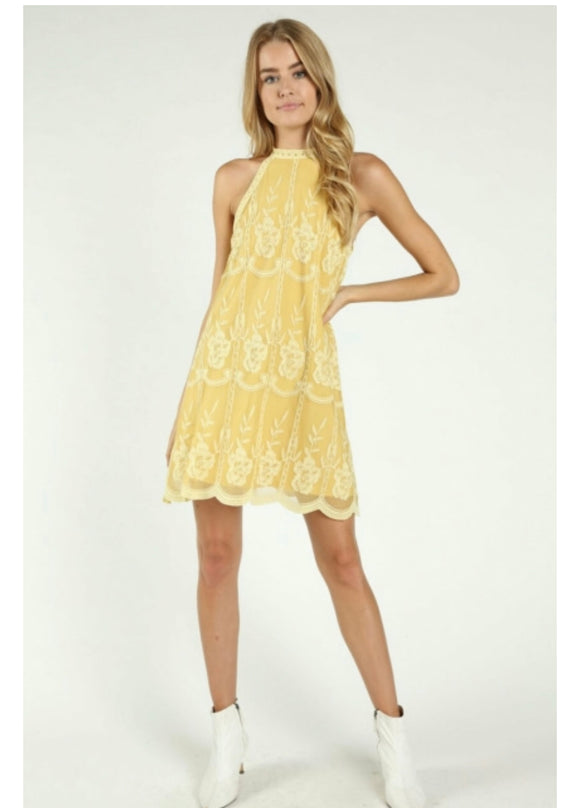 This Is Love Marigold Dress