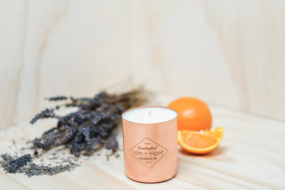 Vim & Vigor: Blood Orange & Lavender