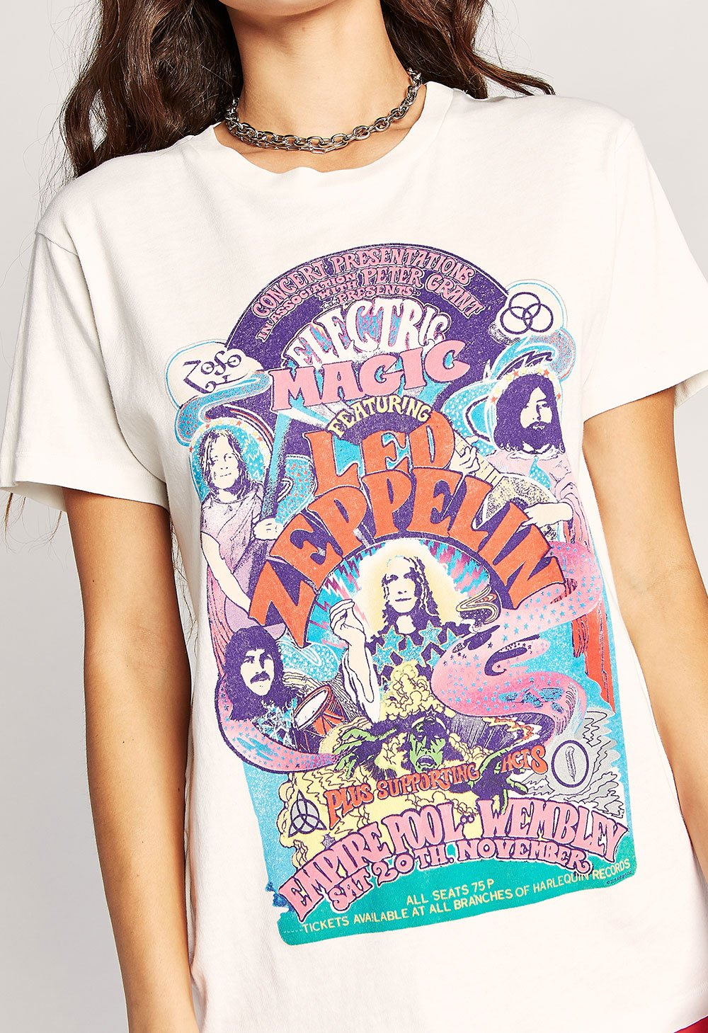 Daydreamer Led Zeppelin Electric Magic Weekend Tee The Rose Hanger