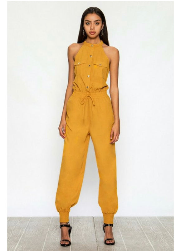 Honeysuckle Utility Jumpsuit