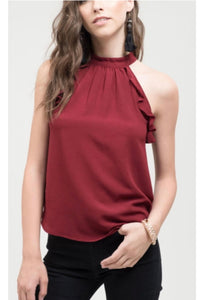 Sonia Ruffle Tank- Multiple Colors