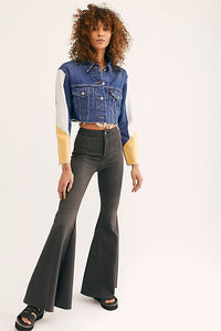Just Float On Flare Jeans by Free People