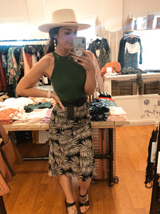 Florida Palms Skirt