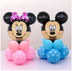 Mickey Mini Face Foil Balloon