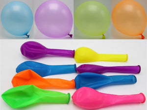 neon latex balloon set 15pc