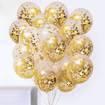 Confetti Balloons/Transparent balloon filled with Confetti 5pc
