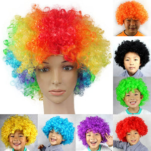 Party Colorful Hair wigs