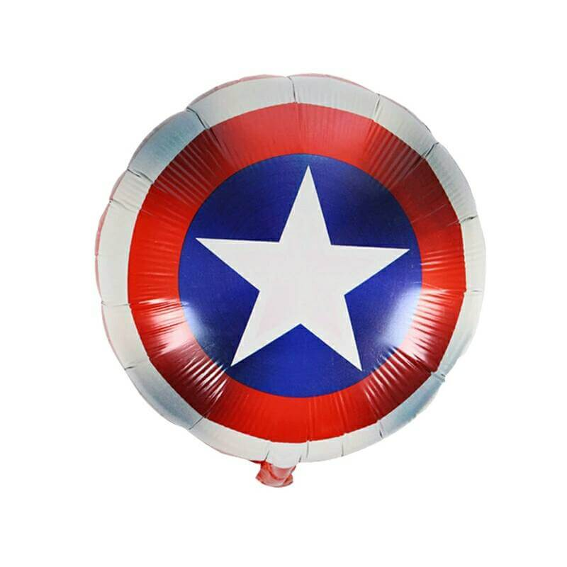 Captain America theme foil balloon
