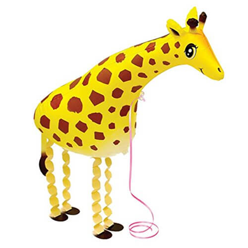 Walking Animals Jungle theme foil balloon