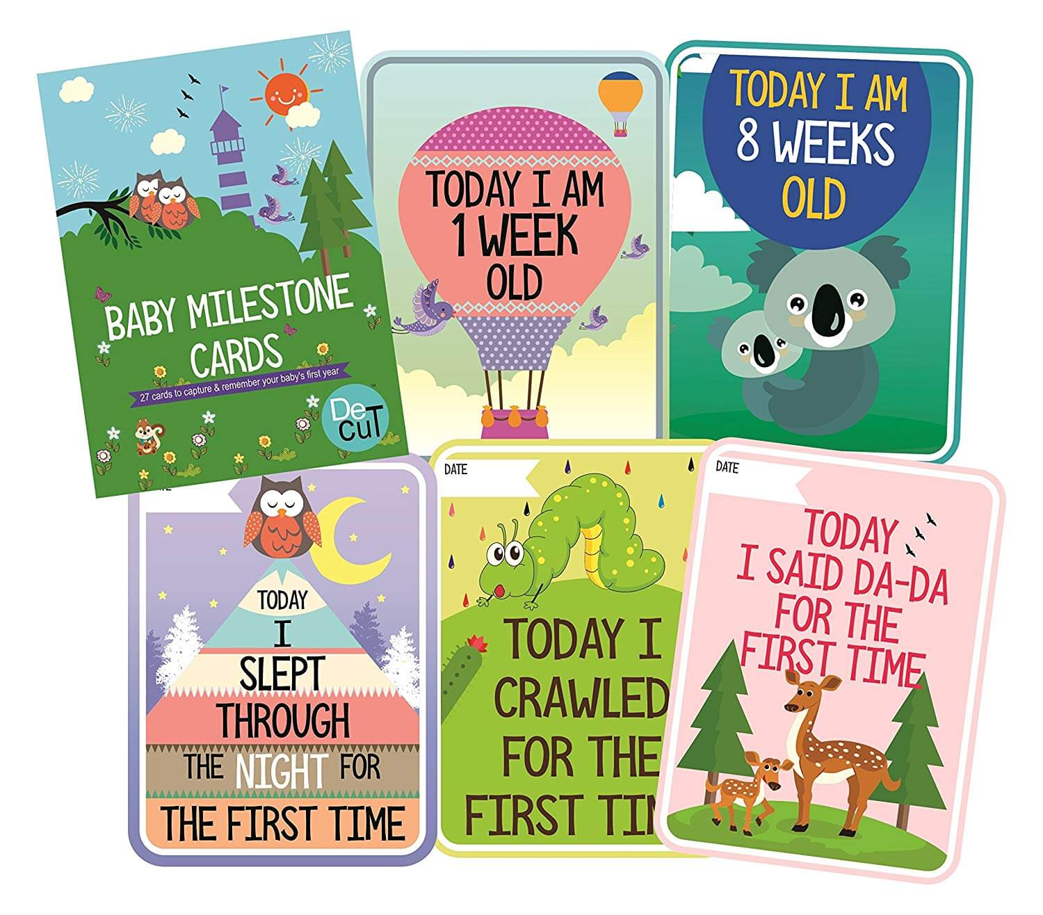 Milestone Cards pack of 27 cards
