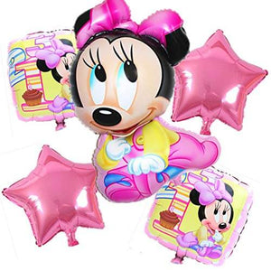 FOIL Balloons (only Minnie First Birthday Foil Balloon) pink