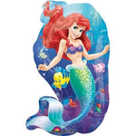 Mermaid ocean theme foil balloon