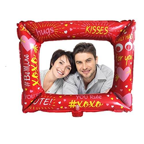 Balloon Frame photo booth props valentine