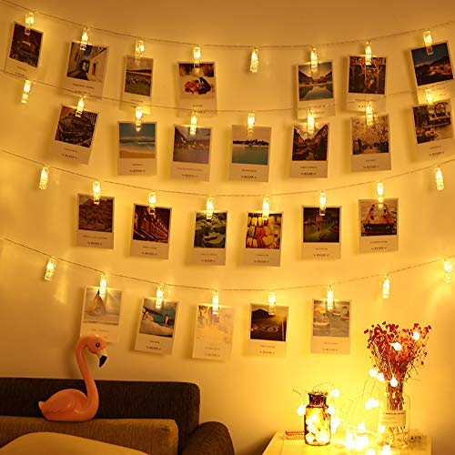Led photo clip lights