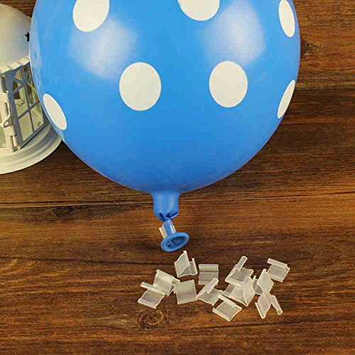 Plastic Balloons Sealing Clamps 10pcs