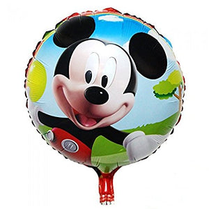 round mickey foil balloon set of 2pc