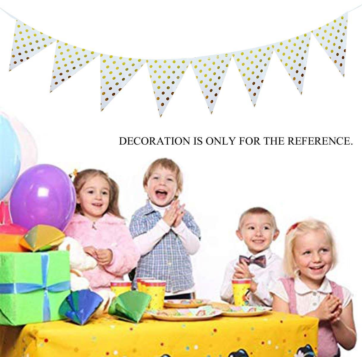 party banner bunting flags