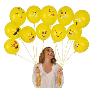 Emoji Latex balloon 10pc