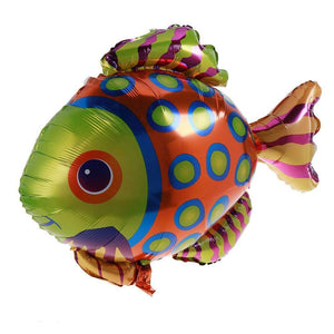 Tropical Fish print foil balloon