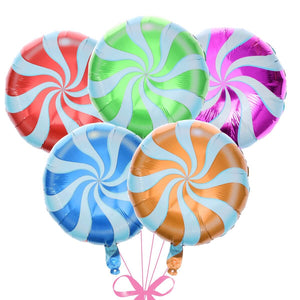 Candy lolipop foil balloon