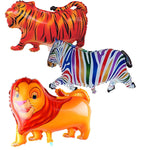 ANIMALS FULL BODY BALLOONS/JUNGLE THEME set of 5pc