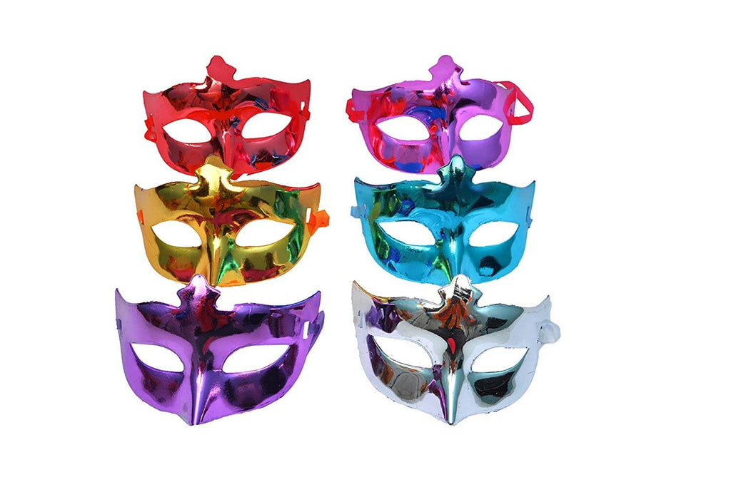 Shining Plated eye Party mask Wedding Props Masquerade mask pack of 3