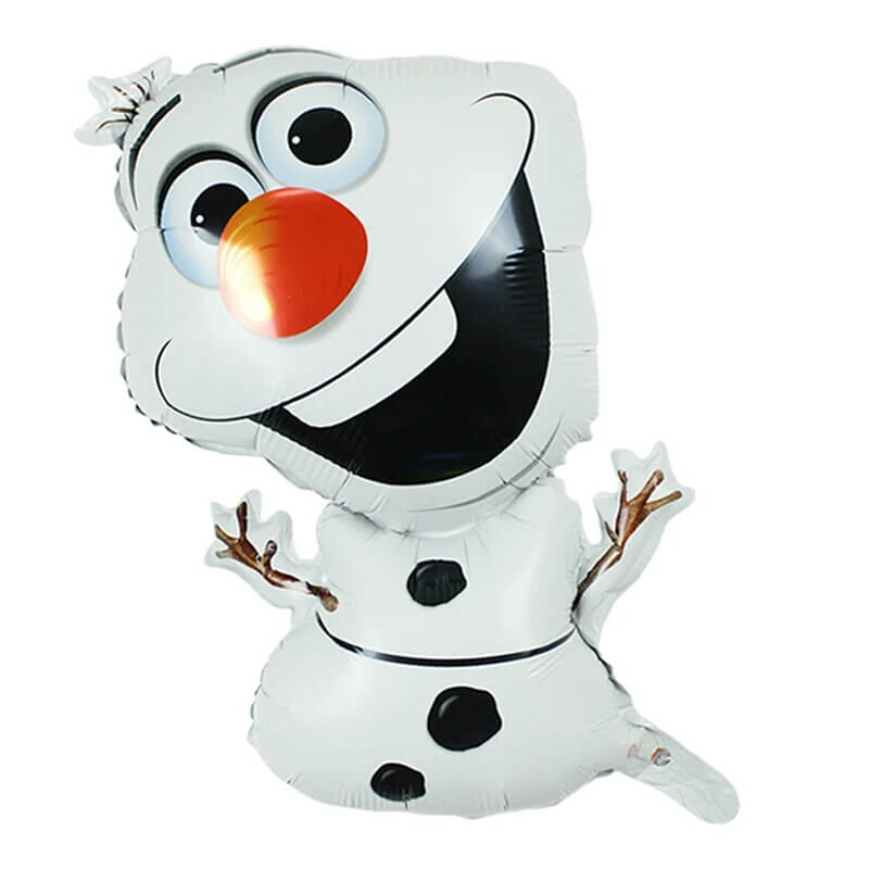 frozen,&round&olaf foil balloon 1pc each(set of 3)