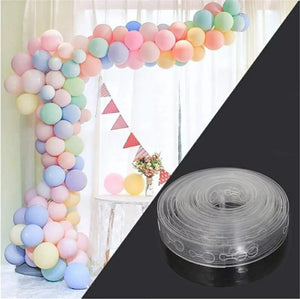 Arch balloon decoration strip