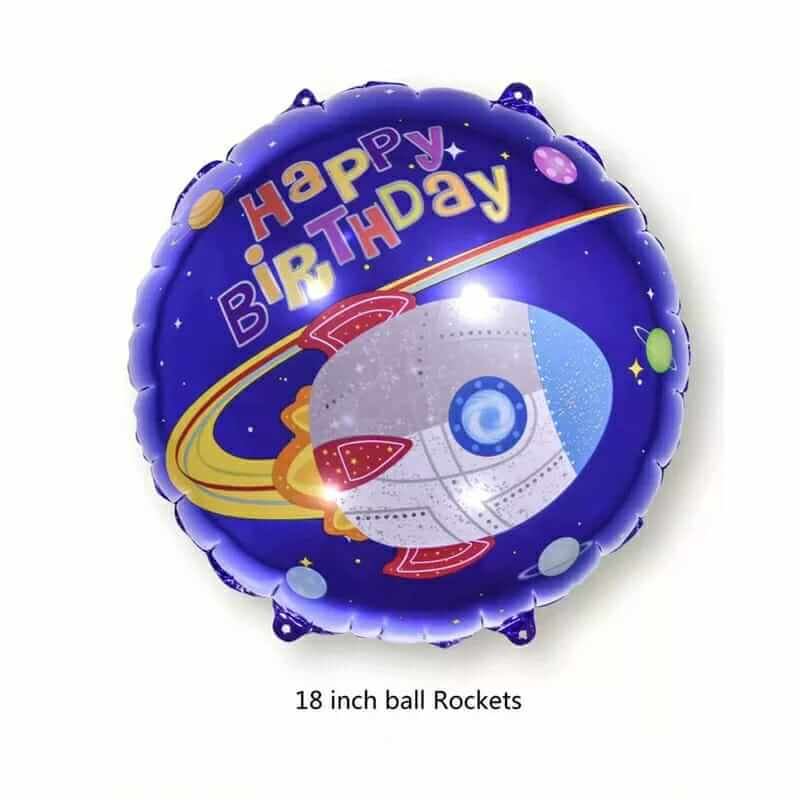 Space theme Foil Balloon for Out of Space