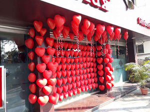 Heart Shape Latex Balloons 14 inch 25pc pack