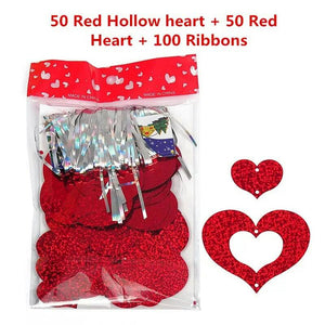 Heart shape hanging string for balloons