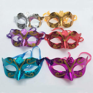 (pack of 3)Shining Plated eye Party mask Wedding Props Masquerade