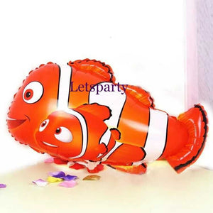 nemo fish foil balloon ocean theme