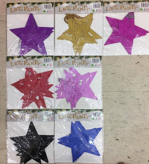 3D Paper Star Hanging string