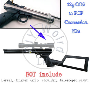 12g CO2 Pump to PCP Constant Pressure Conversion KIT for Crosman Pistol 1377 1322 2240 2250 MYOT