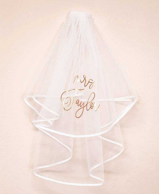 Personalized Mrs. Veil