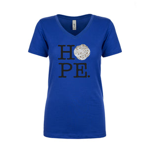 Ladies V-Neck HOPE Tortilla Parody T-Shirt