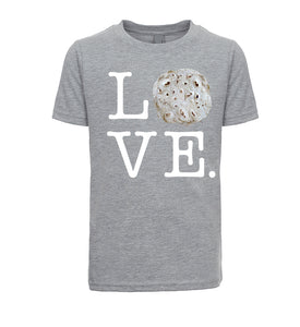 Kids Unisex/Boy's Love Tortilla Parody T-Shirt - White Lettering