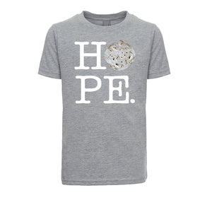 Unisex / Boy's Basic HOPE T-shirt - White Letters